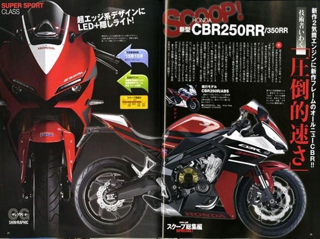 Honda CBR350RR - Render - 2