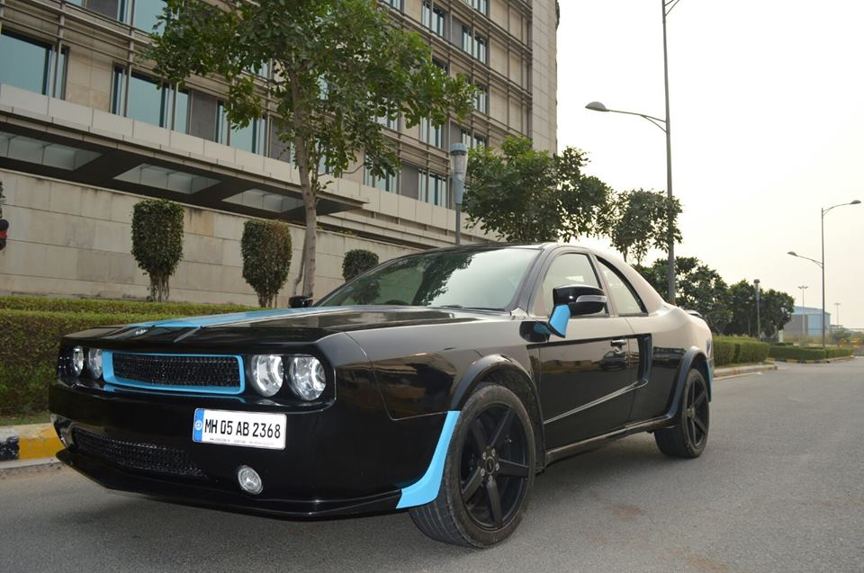 JS Design Ford Mondeo to Dodge Challenger conversion (14)