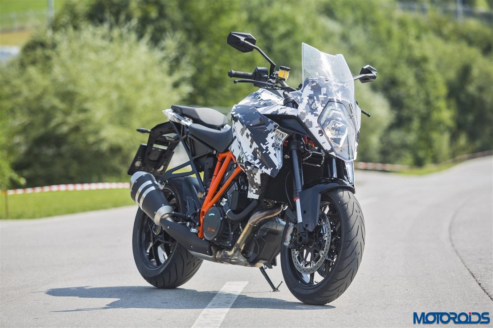 KTM 1290 Super Duke GT official images