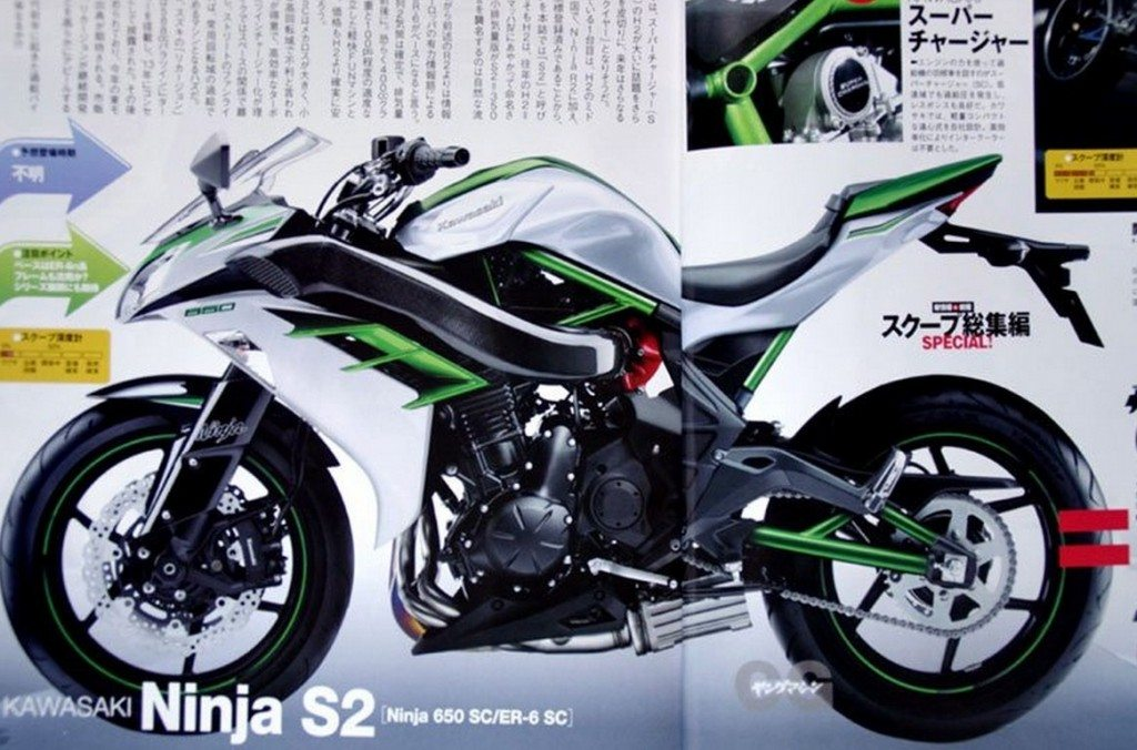 Kawasaki Ninja S2 - Render