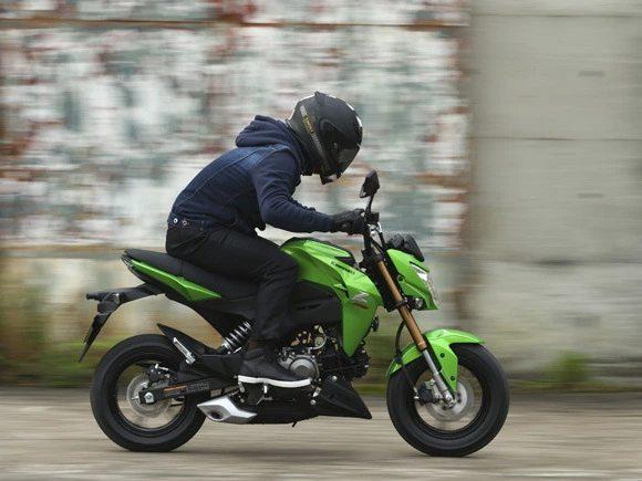 Kawasaki Z125/ Z125pro, the fun mini street fighters are ...