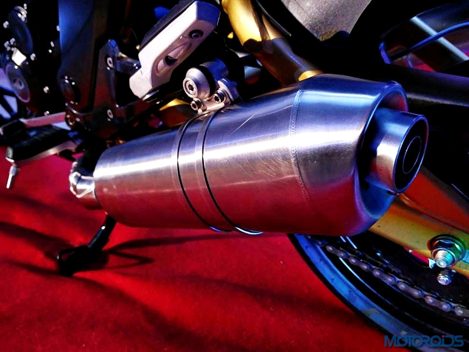 Mahindra Mojo Exhaust Cannister