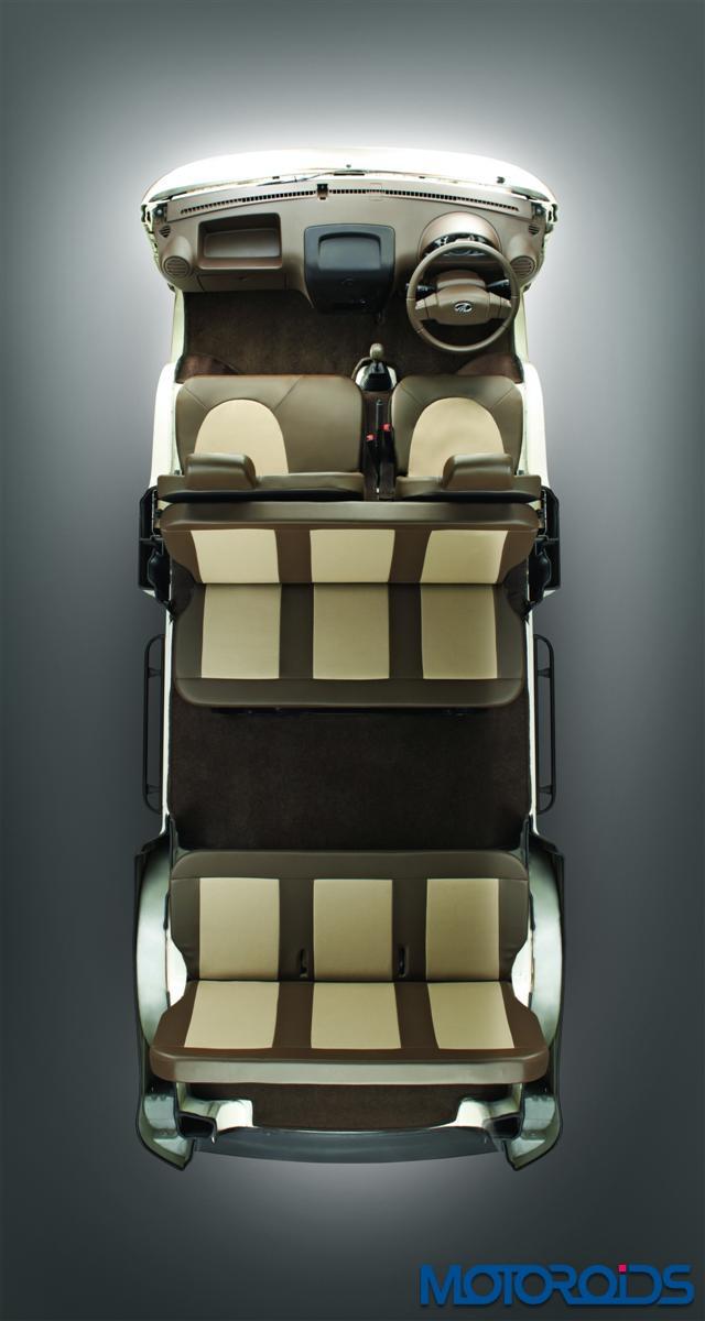 Mahindra Supro seats configuration
