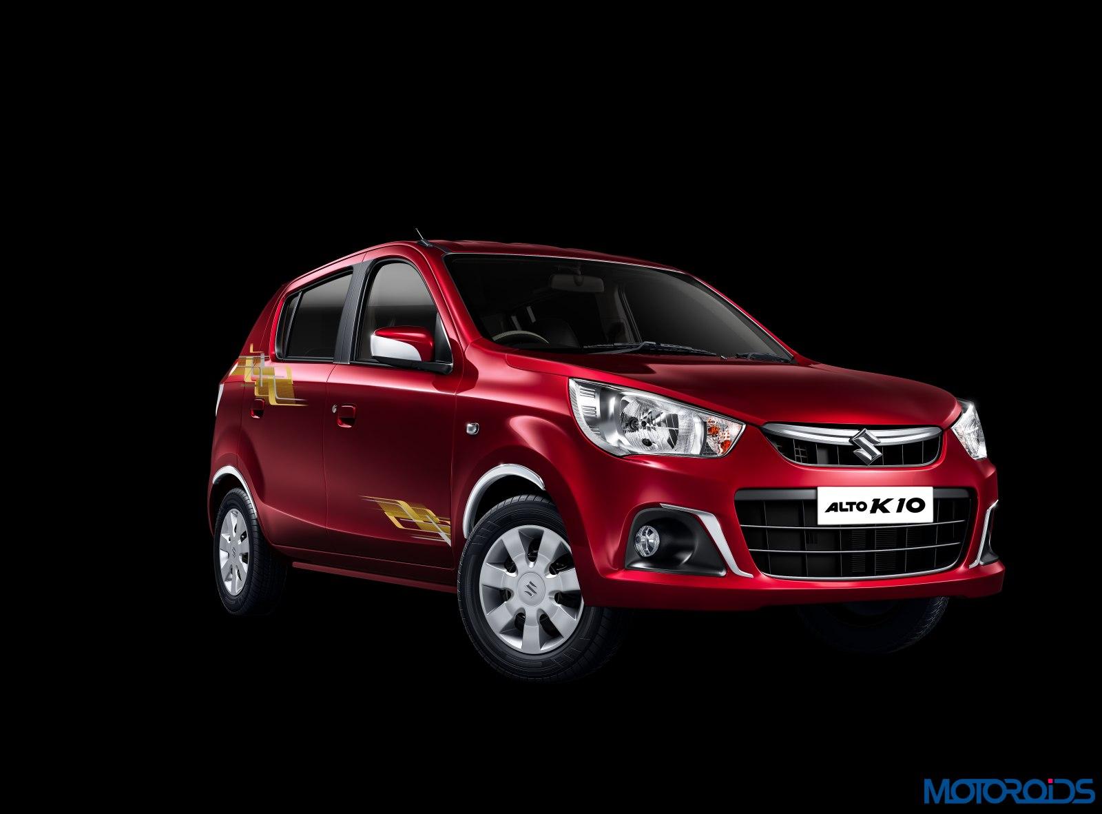 Suzuki Car Dealership >> Maruti Suzuki launches Alto K10 Urbano : A ploy to attract prospective KWID buyers? | Motoroids