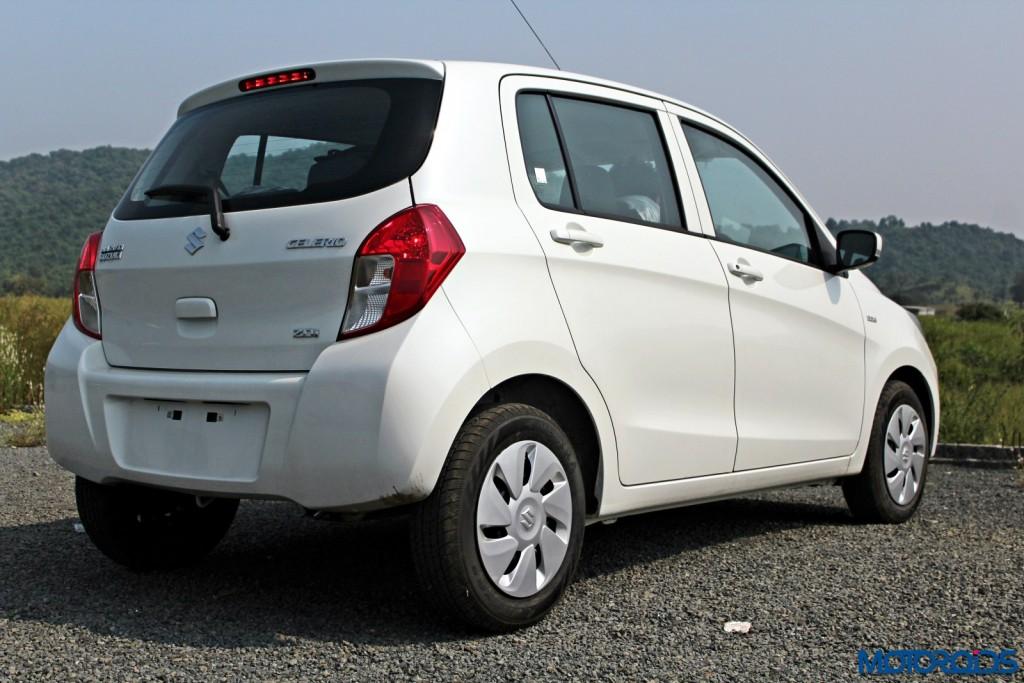 Maruti Suzuki Clelerio Diesel rear (2)