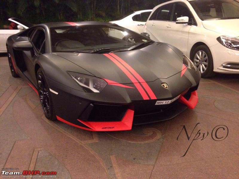 List Five Of The Most Eye Catching Wrapped Super Cars In India Motoroids