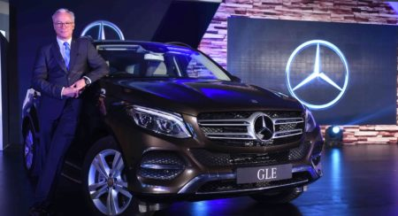 Mercedes-Benz GLE India launch