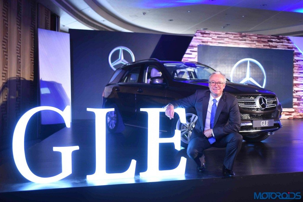 Mercedes-Benz GLE India launch (4)