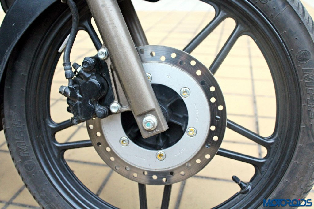New 2015 Hero Xtreme Sport Review - Brakes (4)