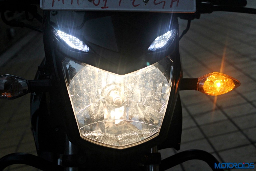 New 2015 Hero Xtreme Sport Review - Headlight (3)