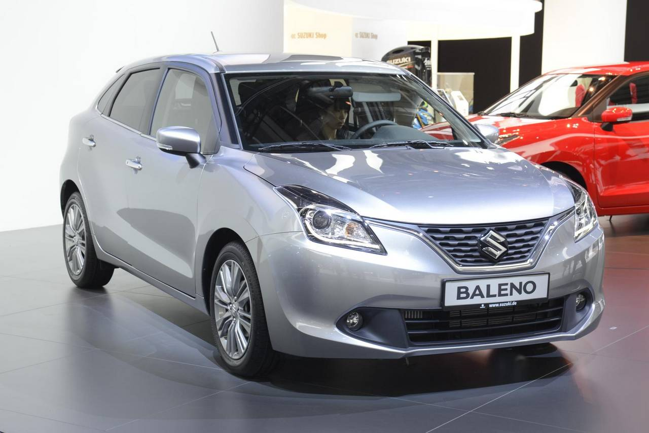 new maruti baleno variant details revealed bookings commence motoroids. Black Bedroom Furniture Sets. Home Design Ideas