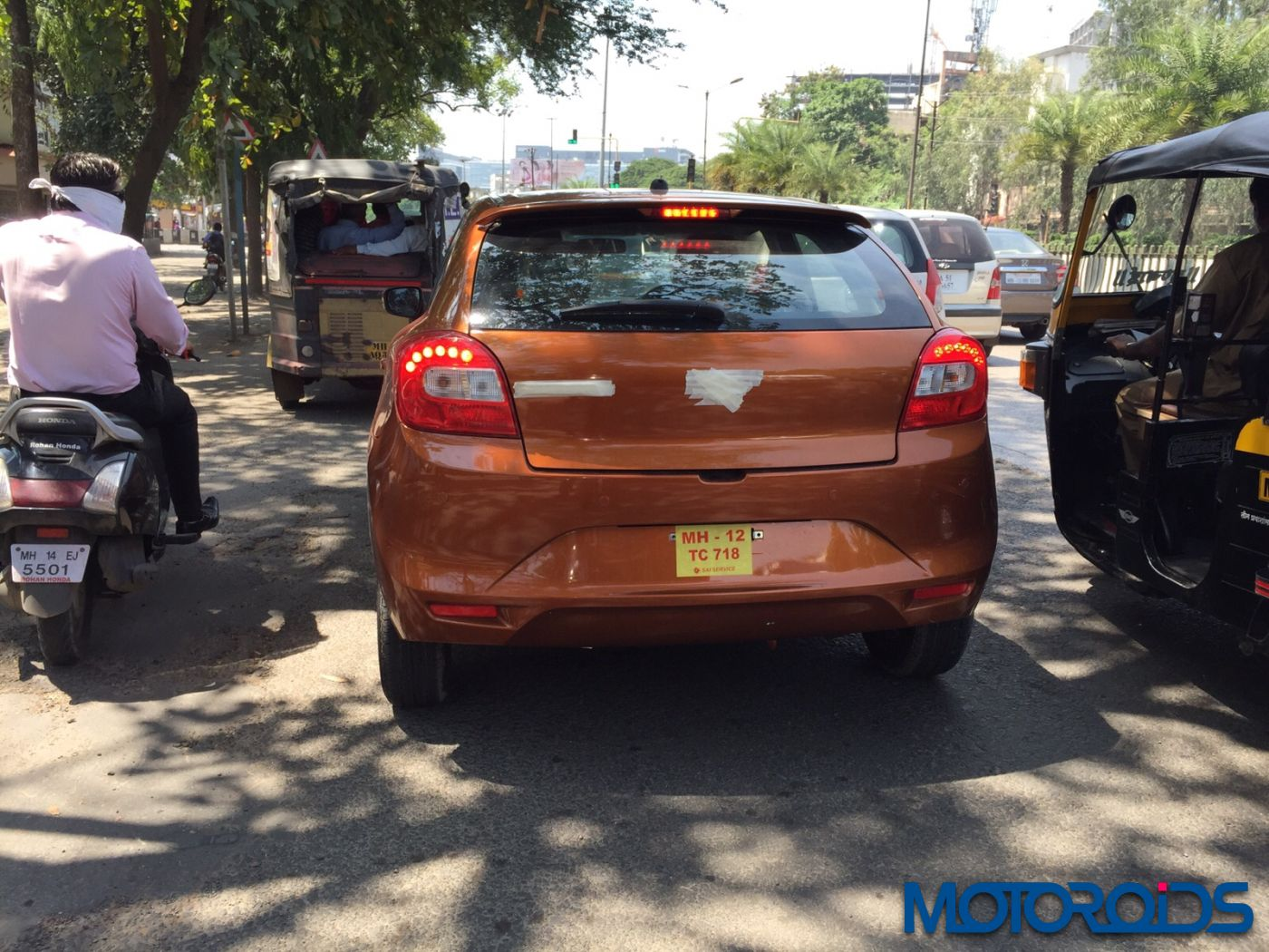 new car launches in puneNew Maruti Baleno Spied Undisguised in Pune Launch this month