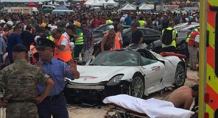 Porsche 918 Crash Malta (2)