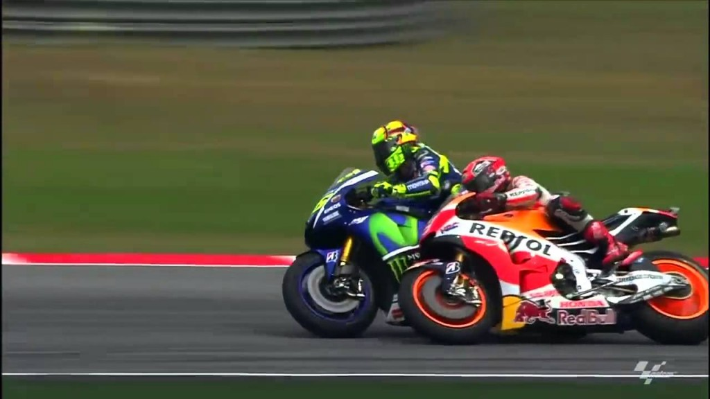 Rossi vs Marquez Sepang Clash 2015 (4)