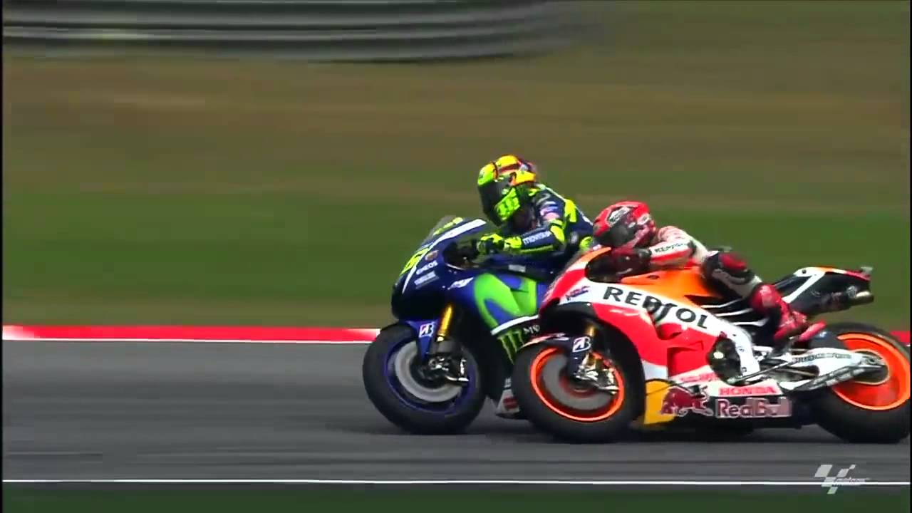VIDEO: Funny montage of Valentino Rossi gunning down Marc Marquez | Motoroids