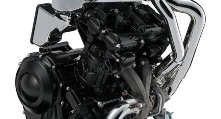 Suzuki turbocharged 600cc engine