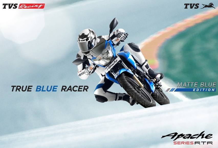 TVS Apache Matte Blue Edition (2)