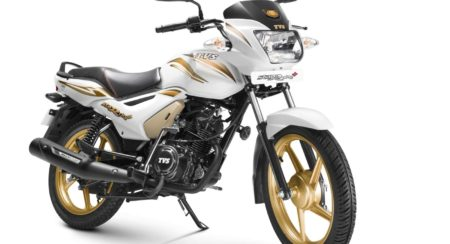 TVS StaR City+ Special Gold Edition 2015