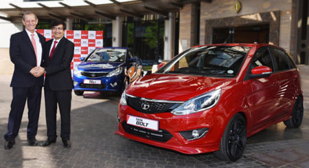 Tata Bolt hatchback and sedan launched in South Africa (2)
