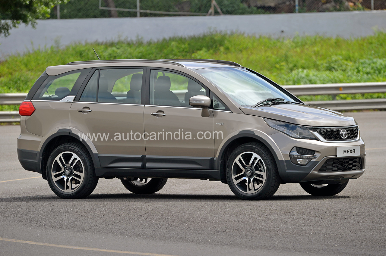 Tata Hexa Crossover : Image gallery, features and details ...