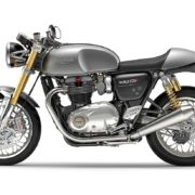 Thruxton R Silver Ice Left 180x180 Triumph Thruxton R to launch in India on June 3, 2016