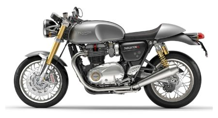 Thruxton-R-Silver-Ice-Left