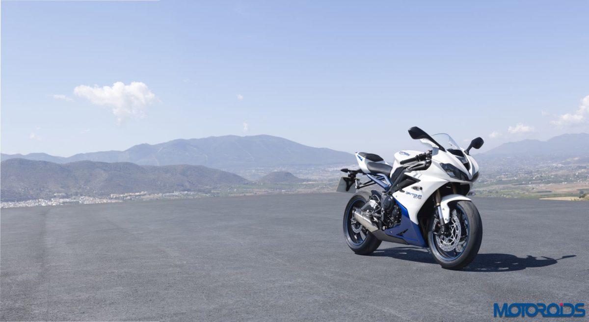 Triumph Daytona_White