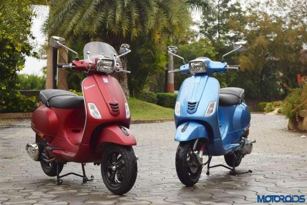 Vespa SXL125 and SXL150 (1)