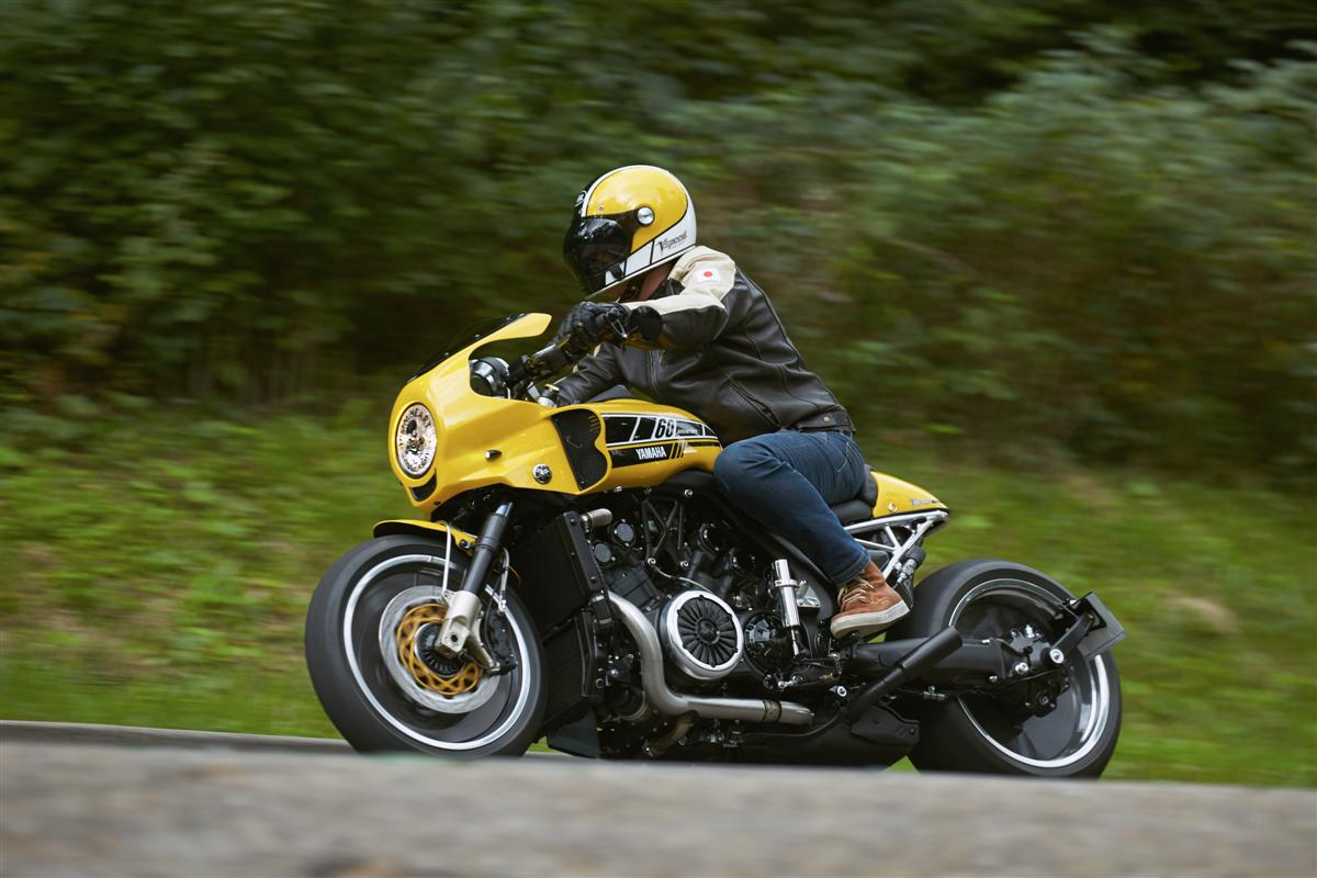 Yamaha VSpeed custom motorcycle2
