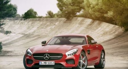 amg gt s front red