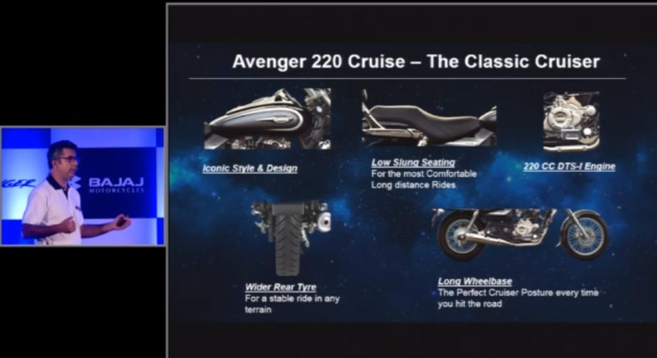 new Avenger 220 Cruiser India 2