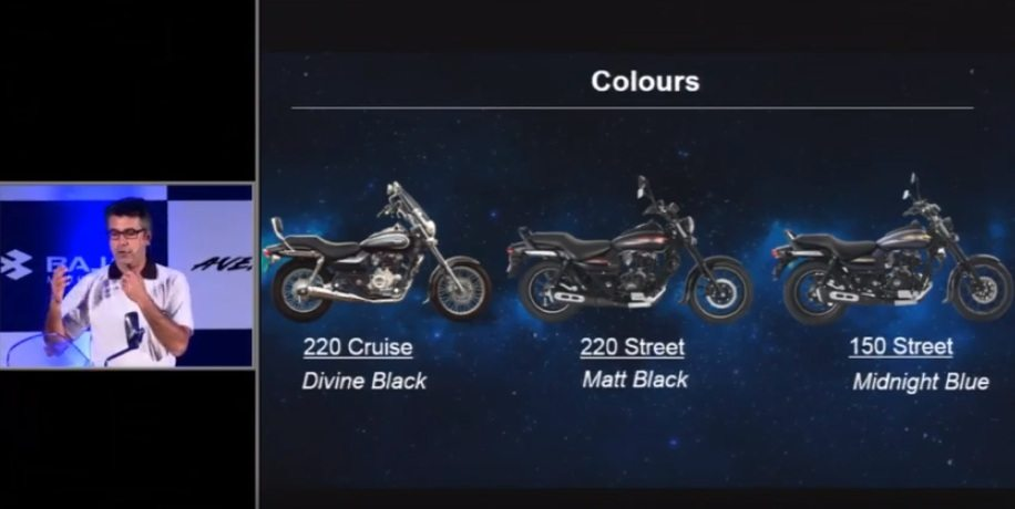 new Avenger 220 Street India colours