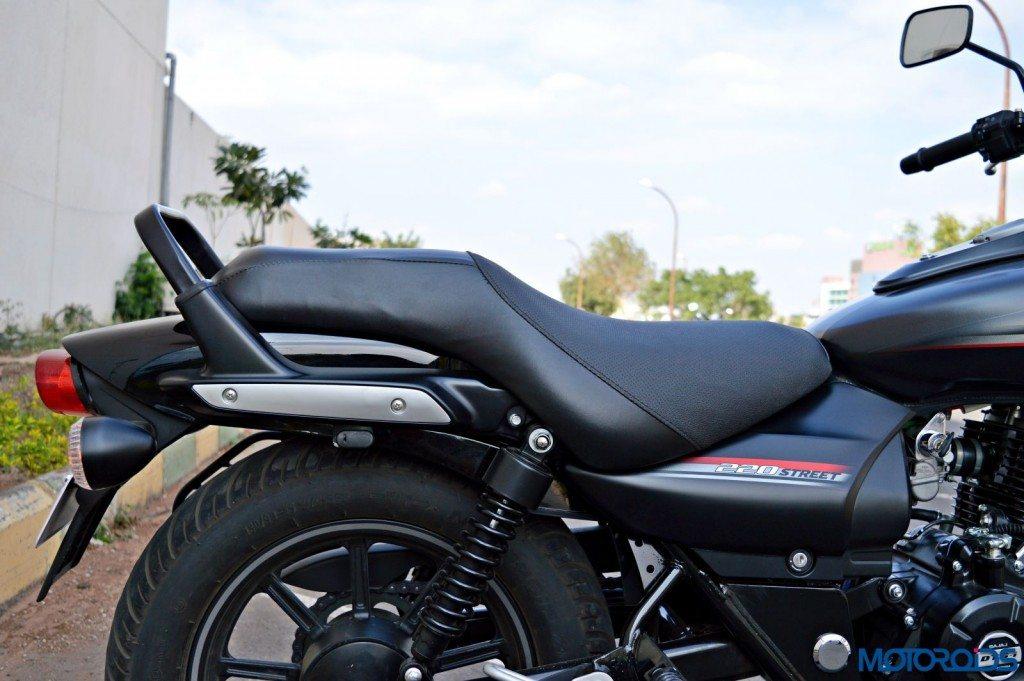 2015 Bajaj Avenger 220 Street - Detail Shots - Side and Rear Panel