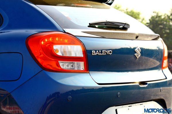 2015 Maruti Suzuki Baleno (52)Rear hatch
