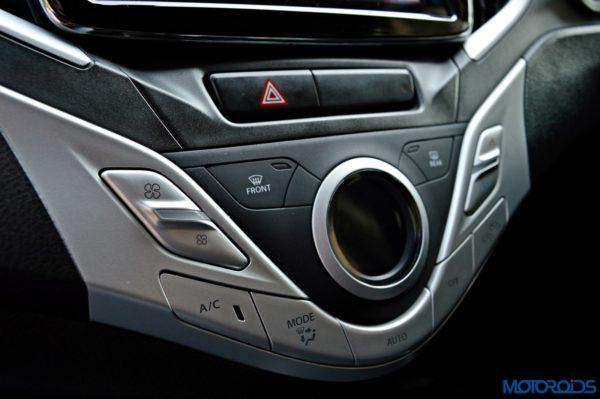 2015 Maruti Suzuki Baleno AC control panel