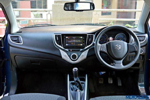 Maruti Suzuki Baleno Interior Motoroids