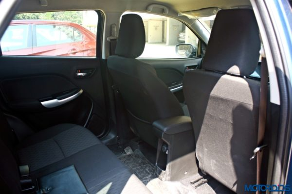 2015 Maruti Suzuki Baleno Rear seat space (2)