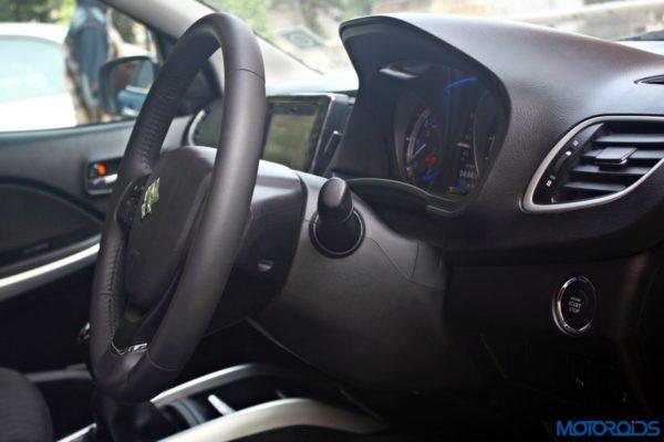 2015 Maruti Suzuki Baleno adjustable steering column