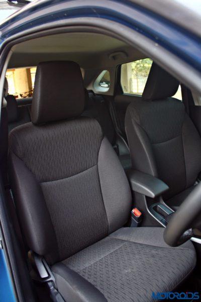 2015 Maruti Suzuki Baleno seat fabric