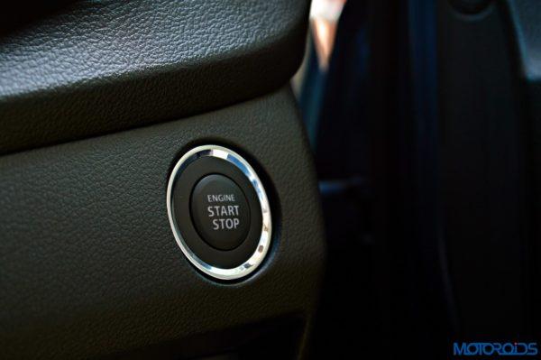 2015 Maruti Suzuki Baleno startstop switch