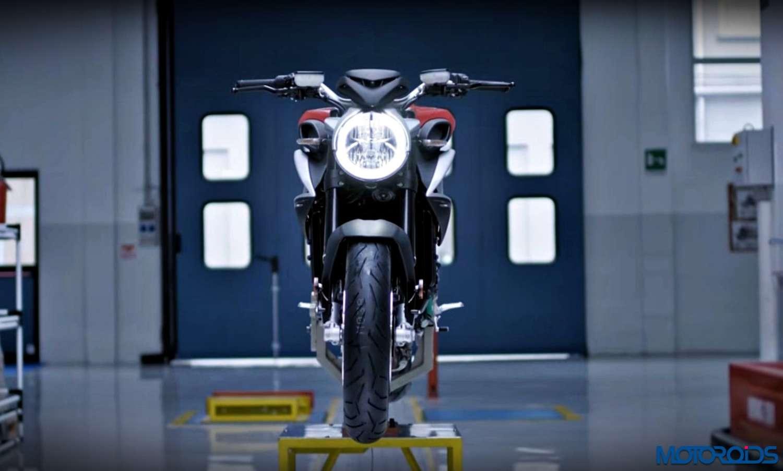 2016 MV Agusta Brutale 800 front