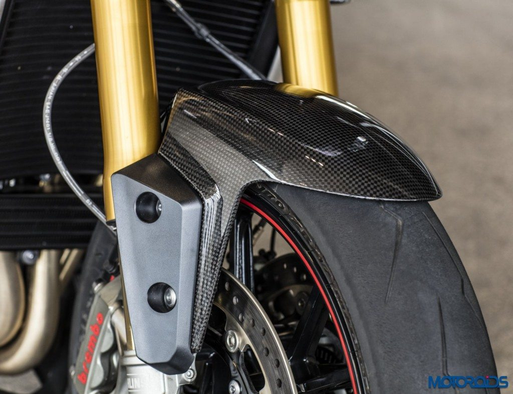 2016 Triumph Speed Triple Series - Official Images - 8 - Front Fender