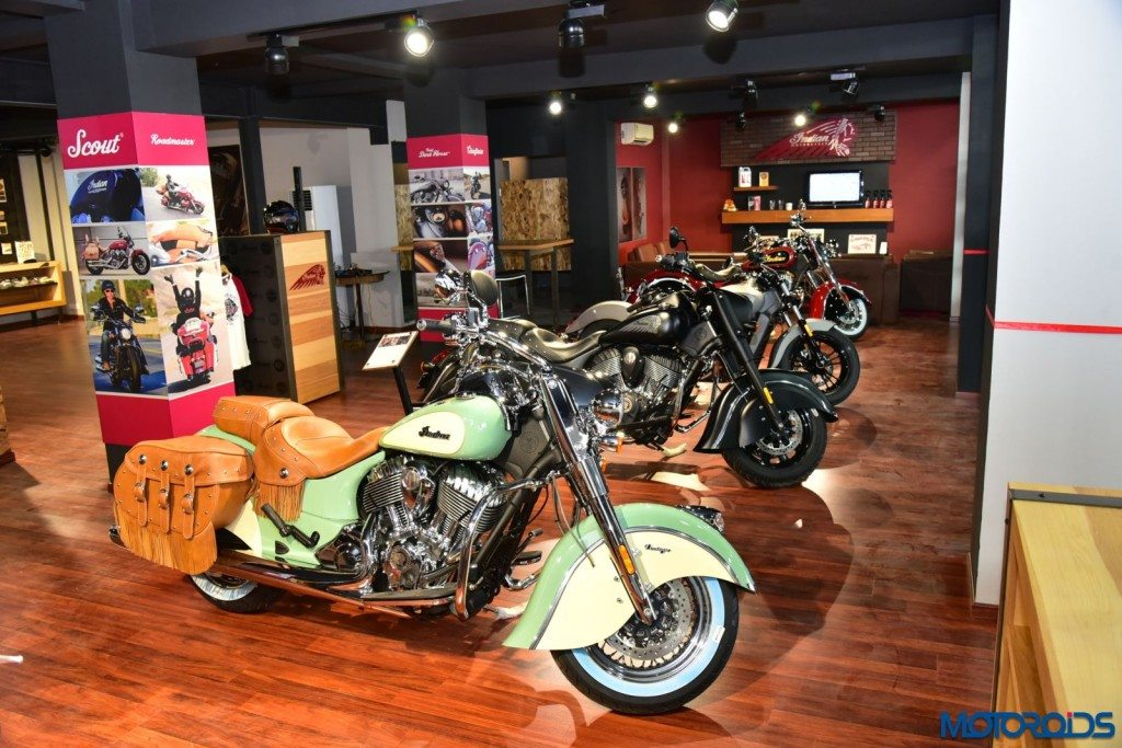 Ahmedabad Dealership- Indian Motorcycle Line Up