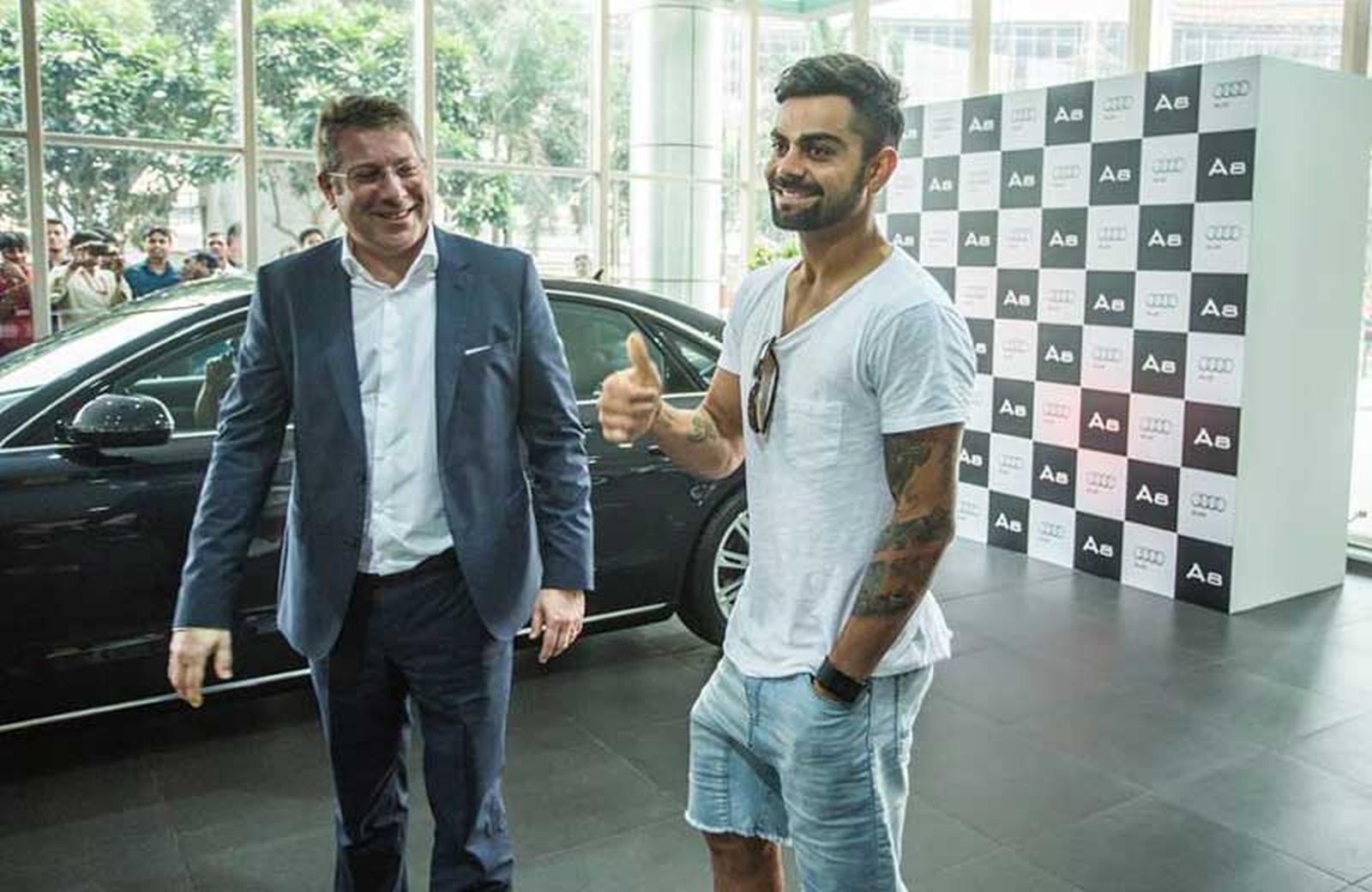 Virat Kohli Treats Himself With A Brand New Audi A8l W12