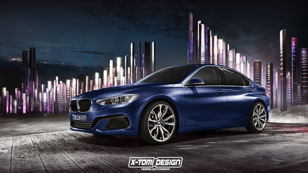 Bmw 2 Series Sedan Render