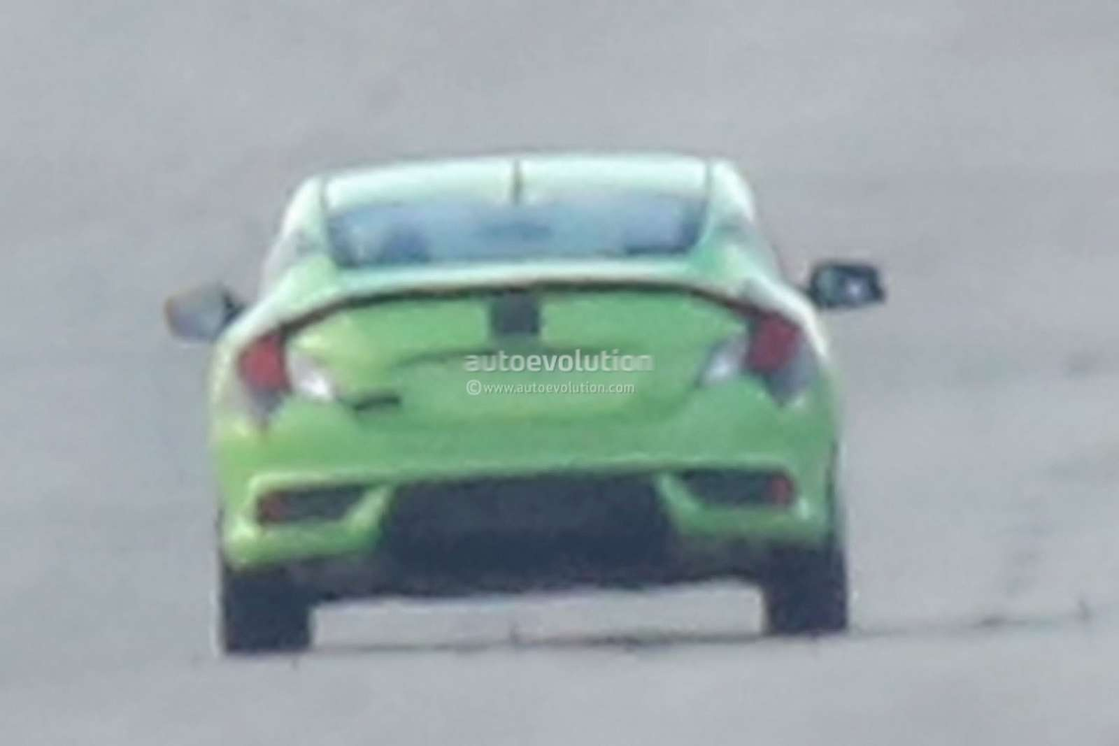 Civic Coupe rear profile