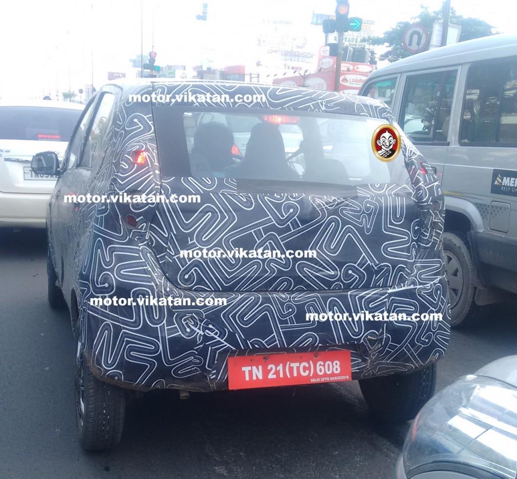 Datsun Redi-GO spy image India
