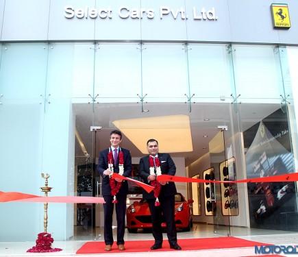 Ferrari New Delhi now ...