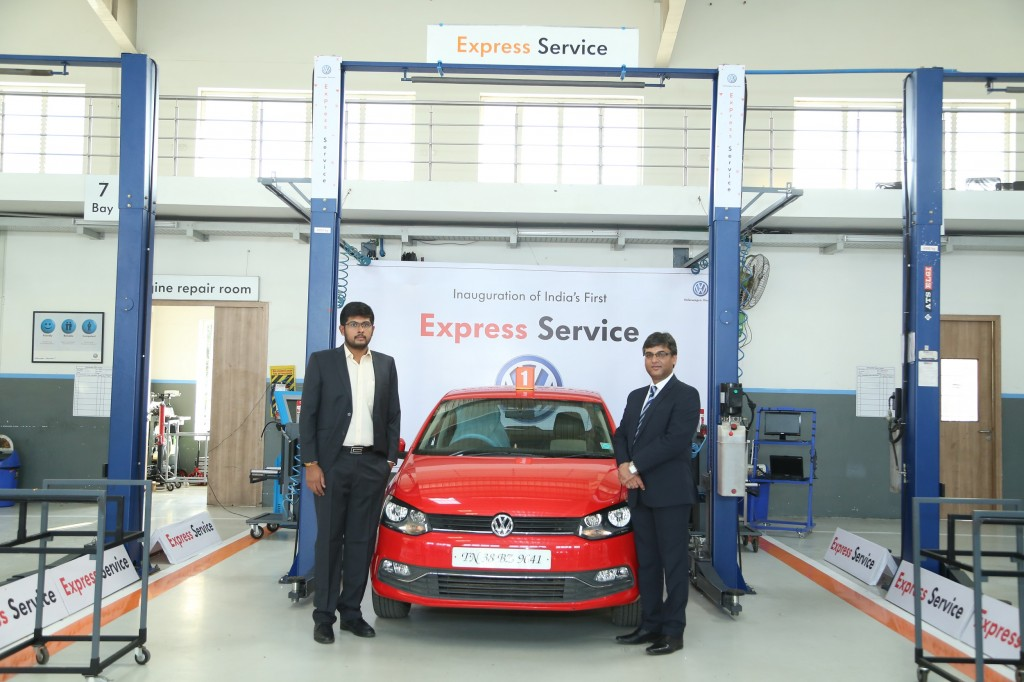First Volkswagen Express Service Center Opens At