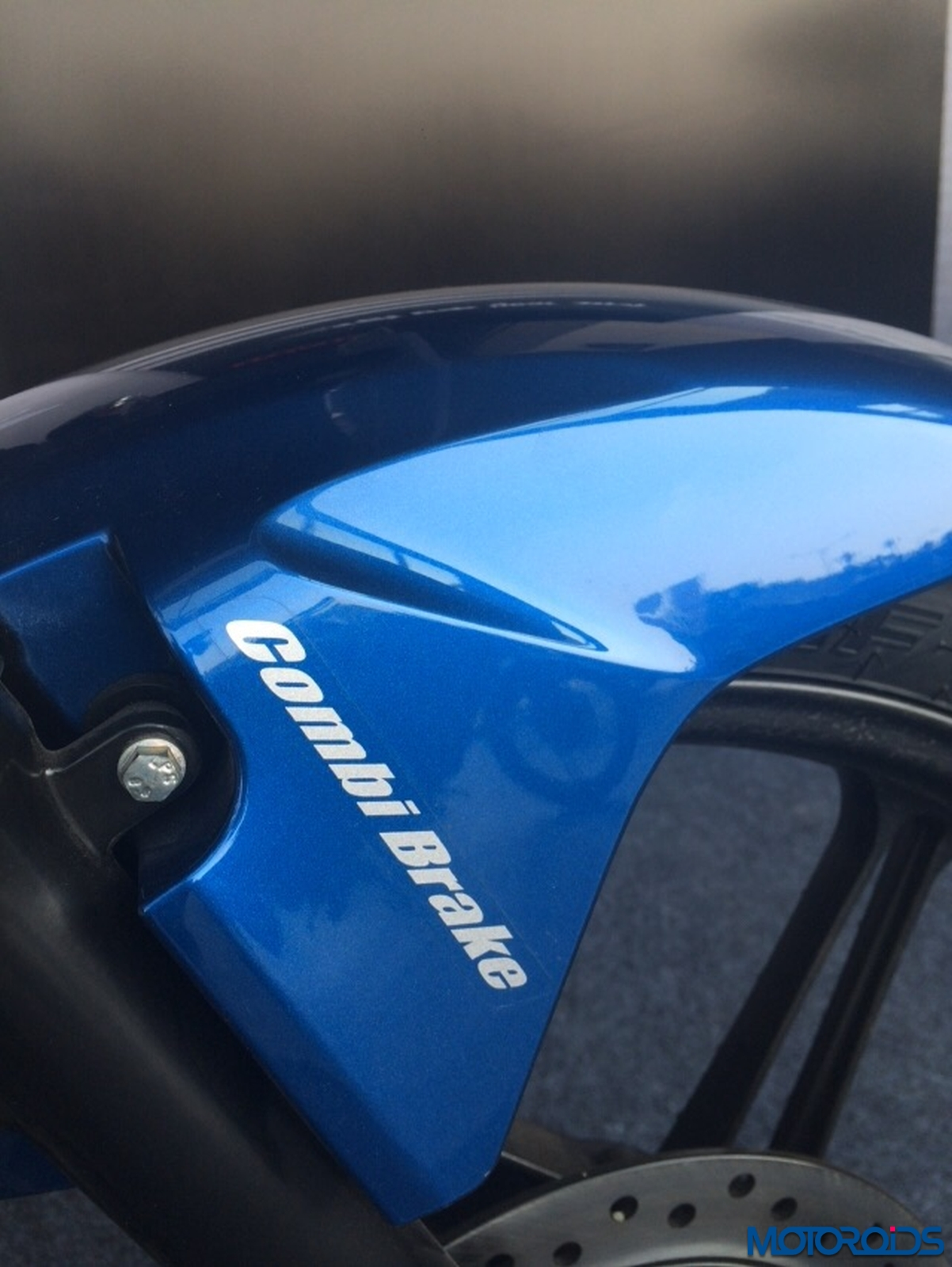 The combi brake label
